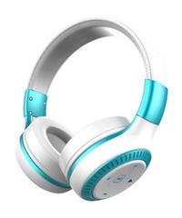 ブルートゥース4.1接続 折りたたみ コンパクト ワイヤレス ヘッドフォン ハンズフリー ボリューム調整可能 シンプルデザイン ブルー