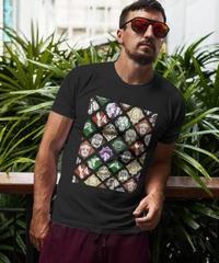 【備考欄要サイズ記載】Dead by Daylight パーク コラージュ風 プリント ユニセックス 半袖 Tシャツ  S~6XL  7カラー