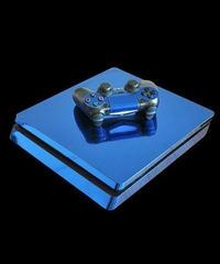 Playstation4スリム専用 艶感 ゴージャス メタリックカラー クール スキンシール PS4 カスタマイズ ステッカー 選べる4カラー