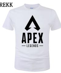 【備考欄要サイズ記載】APEX LEGENDS ロゴ フロント レタープリント シンプル 半袖 Tシャツ トップス インナー 選べる8カラー