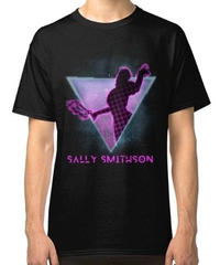 Dead by Daylight キラー ナース サリー・スミッソン フロントプリント 半袖 メンズ Tシャツ ブラックカラー S~4XL