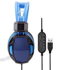 シンプル クール 有線 7.1 サラウンドサウンド ゲーミングヘッドフォン マイク付 オンライン ボイチャ 選べる2カラー USB接続タイプ