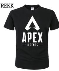 【備考欄要サイズ記載】APEX LEGENDS ロゴ フロント レタープリント シンプル 半袖 Tシャツ トップス インナー 選べる9カラー