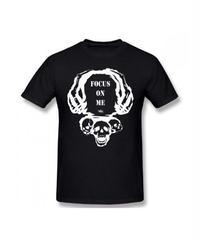 Dead by Daylight スカルイラスト 文字デザインシンプル 半袖 Tシャツ メンズ トップス 春夏 100%コットン S~6XL ブラック