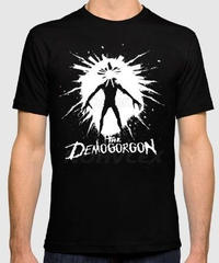 Dead by Daylight キラー デモゴルゴン 全身 スタイリッシュデザイン イラストプリントト カジュアル 半袖 メンズTシャツ ブラックカラー S~XXXL