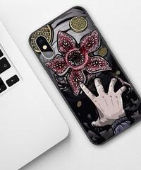 Dead by Daylight デモゴルゴン フルプリント ソフトシリコン iPhone バックカバー X XSMAX XR XS対応 ハイクオリティ ヘッド&ハンドデザイン
