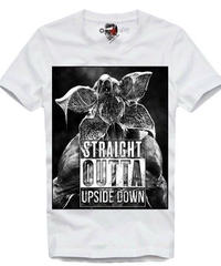 Dead by Daylight デモゴルゴン 追加キラー リアル フォトデザイン フロントプリント ホワイト メンズ 半袖Tシャツ インナー ルームウェア S~XXXL