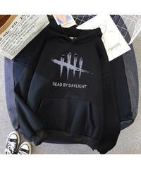 【備考欄要サイズ指定】Dead by Daylight 7色バリエ 長袖 ユニセックス フード付 パーカー プルオーバー トップス XS~XXXL