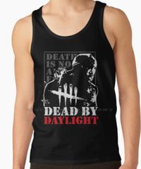 【備考欄要サイズ記載】Dead by Daylight  フロント トラッパー バックススタイルプリント ノースリーブ メンズ タンクトップ 夏服 インナー 選べる4カラー S~XXXL