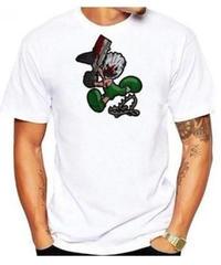 Dead by Daylight キラー トラッパー デフォルメイラスト コミカルプリント 半袖 ホワイトカラー メンズ TシャツS~XXXL