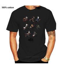 Dead by Daylight キラー デフォルメイラスト フロントプリント 半袖 メンズ Tシャツ ポリエステル コットン 選べる7カラー