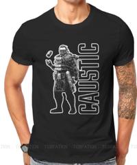 【備考欄要サイズ記載】APEX LEGENDS コースティック キャラクター&ロゴ デザイン 半袖 メンズ Tシャツ S~6XL 選べる11カラー