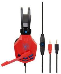 オーバーイヤー ノイズキャンセリング ゲーミングヘッドフォン サイバーデザイン 有線 ヘッドセット マイク付 3カラー PC接続タイプ