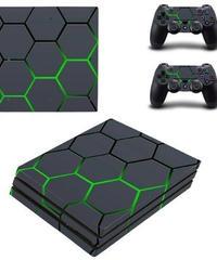 Playstation4プロ専用 近未来風デザイン スキンシール PS4pro ビニール カスタマイズ ステッカー
