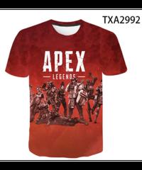 【備考欄要サイズ記載】APEX LEGENDS ロゴ キャラ プリント 半袖 Tシャツ トップス インナー 選べる5柄 親子コーデ可