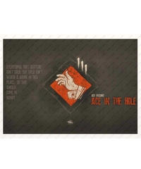 Dead by Daylight サバイバー パーク イラストデザイン 紙製 ポスター 42×30cm ウォールデコ ブラックカラー 選べる10タイプ