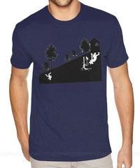 Dead by Daylight リバース 風景 シルエットプリント ストレンジシングス キラー デモゴルゴン メンズ 半袖 Tシャツ カジュアル S~6XL