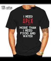 【備考欄要サイズ記載】APEX LEGENDS ヴィンテージ レタープリント メンズ 半袖 Tシャツ 夏服 インナー 9カラー XXS~4XL