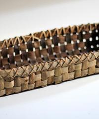 胡桃の整理かご 籠(トレー) (クルミ/沢くるみ)  小物入れ 暮らしの籠  生活雑貨