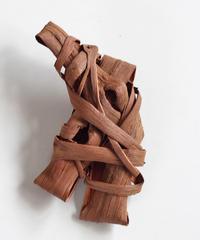 山葡萄のブローチ 『大き目』岩手県産の山ブドウ樹皮