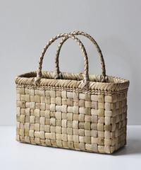 横幅33cm 沢胡桃のかごバッグ   (クルミ/くるみ/籠)  オズのかごバッグ