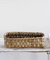 胡桃の整理かご 籠(横長) (クルミ/沢くるみ)  小物入れ 暮らしの籠  生活雑貨