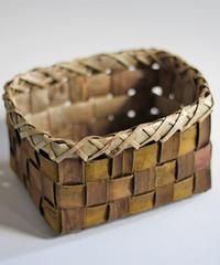 胡桃の整理かご 籠(小) (クルミ/沢くるみ)  小物入れ 暮らしの籠  生活雑貨