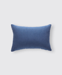 LINEN CUSHION COVER (RECTANGLE) / NUIT BLUE