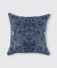 CUSHION COVER:ANIMAL / NUIT BLUE