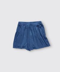 ORGANIC COTTON JERSEY SHORT PANTS / NUIT BLUE