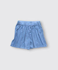 ORGANIC COTTON JERSEY SHORT PANTS / MATIN BLUE