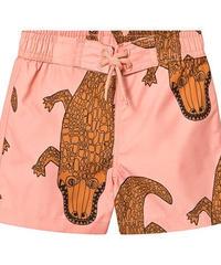 【 mini rodini 2019SS 】80115  Crocco swimshorts / Pink