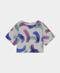 【 Bobo Choses 2020SS 】12001028	All Over Painted T-Shirt