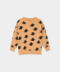 【 Bobo Choses 2019AW 】219039 ALL OVER BIG SATURN SWEATSHIRT