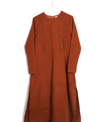 【 WOLF&RITA WOMEN 2018AW 】 PATRICIA - Dress / BRICK
