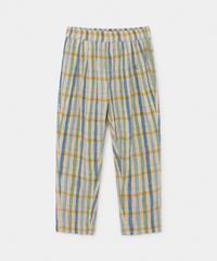 【 Bobo Choses 2020SS 】12001092Checker Baggy Trousers