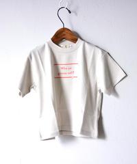 【 SWOON 20SS 】sw13-800-501 ゴーストT / Beige / レディース
