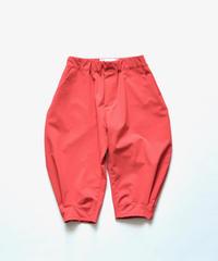 【ピーカブーヤ限定色】【 nunuforme 2020SS 】ヘムタックカーブパンツ [nf13-618-088] / コーラルオレンジ