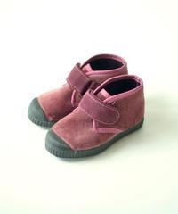 【 Cienta 2018AW 】ベルクロブーツ 975075 / raspberry / velour / 14~21cm