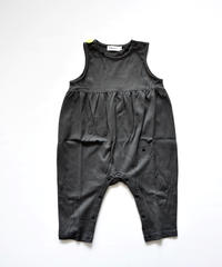 【 franky grow 2019AW 】 19FWCS-326 TOTAL HANDLE NOSLEEVES ROMPURS / DEEP BLACK-BLACK RABBIT