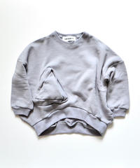【 UNIONINI 2019AW 】 19AW-TR-020 ◯△ sweat shirt / grey / 2 - 10Y