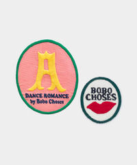 【 Bobo Choses 2020SS 】12011049	Sunrise Iron-On Patches Pack