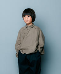 【 nunuforme 2020SS 】サークルシャツ [nf13-545-085]  / Beige