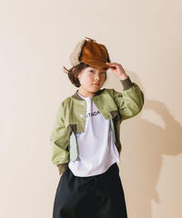 【 nunuforme 2019AW 】nf12-105-007 フロントショートブルゾン / Khaki