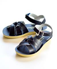 """【 Saltwater Sandals 19SS】 海でも履けるレザーサンダル  / ソルトウォーターサンダル """"Swimmer""""  / ネイビー / 20 - 22.5cm"""