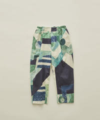 【 eLfinFolk 2020SS 】elf-201F04 Maghreb pants / green / 110-130cm
