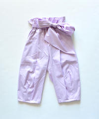 【 folk made 2020SS 】#12 pants with ribbon / ピーカブーヤ別注カラー