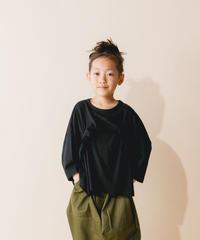 【 nunuforme 2019AW 】nf12-967-500 タックフリルT / Black
