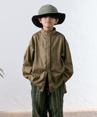 【 MOUN TEN. 2020SS 】80/1 washer big shirts [MT201004-c]  / khaki / Ladies