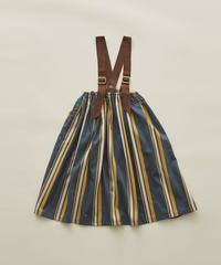 【 eLfinFolk 2020SS 】elf-201F36 regimen stripe skirt / blue / 90, 110, 130cm